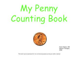 My Penny Counting Book