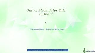 Online Hookah for sale in India