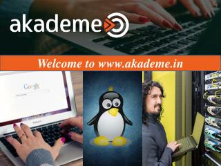 Choose the best IT Professionals courses online at Akademe.in