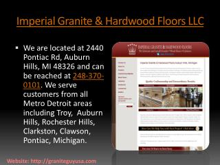 Imperial Granite & Hardwood Floors LLC