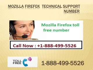 Mozilla Firefox  Customer Service Contact Number   1 888 499 5526