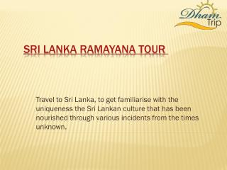Tour Sri Lanka Ramayana places with Dhamtrip