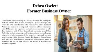 Debra Oselett - Former Business Owner