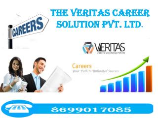 The Veritas Career Solution Pvt. Ltd. - clinical research