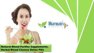 Natural Blood Purifier Supplements, Herbal Blood Cleanse Detox Pills
