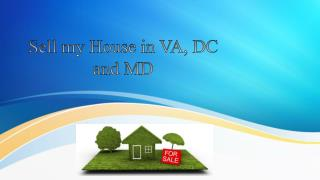 Sell my House in VA, DC and MD