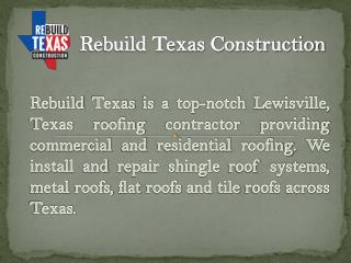 Plano roofing repair contractor