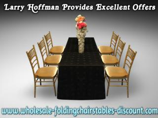 Larry Hoffman Provides Excellent Offers