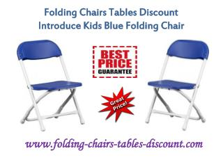Folding Chairs Tables Discount Introduce Kids Blue Folding Chair