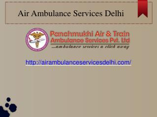 Experienced Air Ambulance Service Provider In Delhi