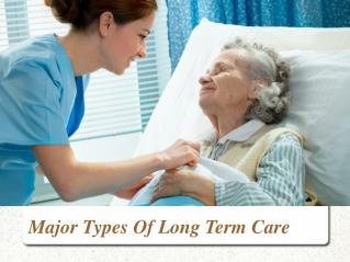 Types of Long Term Care: TruCare Pharmacy