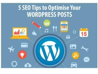 5 SEO Tips to Optimise Your WordPress Posts