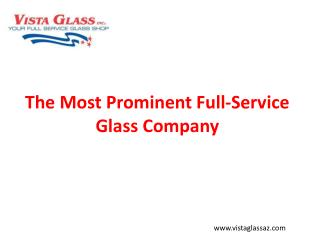 Best Full Service Glass Company