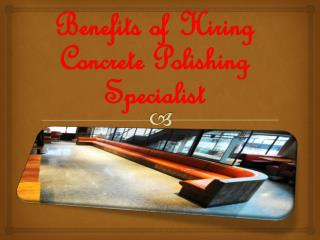 Concrete Polishing Specialist
