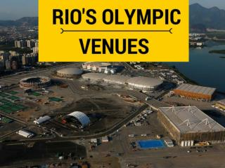Rio's Olympic venues