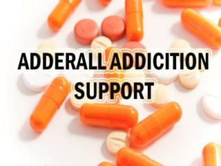 Adderall Addiction Support