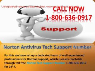 Resolve the issues for the Norton tech Support Number 1-800-636-0917