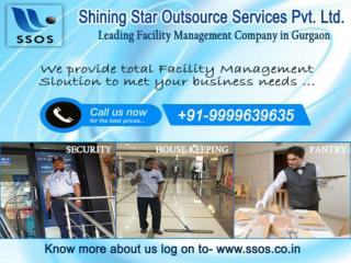 Affordable facility management services in gurgaon by SSOS
