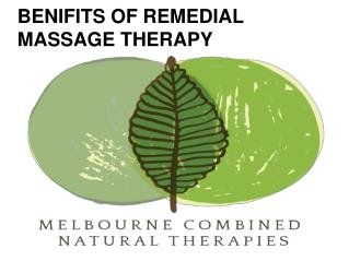 Benefits, you can get in Melbourne by remedial massage