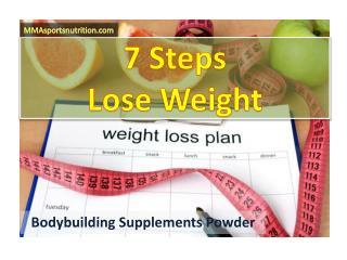7 Steps to Lose Weight - Protein Shakes for Weight Loss