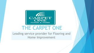 The Carpet One
