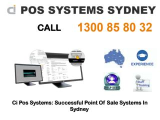 Ci Pos Systems: Successful Point Of Sale Systems In Sydney