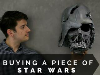 Buying a piece of Star Wars