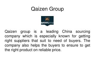 China Sourcing Company By Product Categories - Qaizen Group