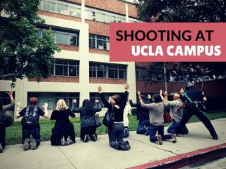 Shooting at UCLA campus