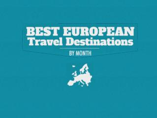 The Best European Travel Destinations