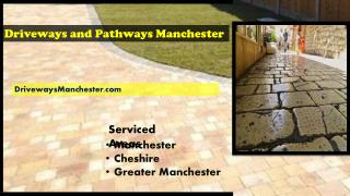 New driveway or upgrade an old driveway in Manchester and Cheshire