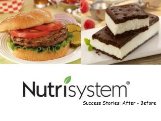 Nutrisystem Success Stories: After - Before