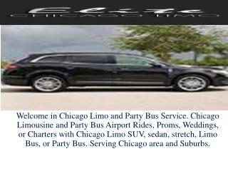 black car sedans chicago
