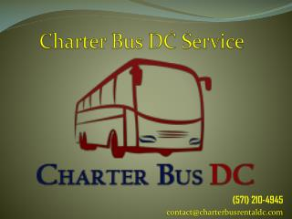 Charter Bus DC Bus Tours in Washington, DC