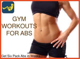 Gym Workouts For Abs