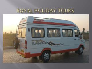 Tempo Traveller on Rent from 9 Seater to 15 Seater