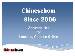 Learn Chinese Online