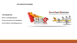 Best SEO, SMO, PPC services in Mumbai, Vashi, New Mumbai.