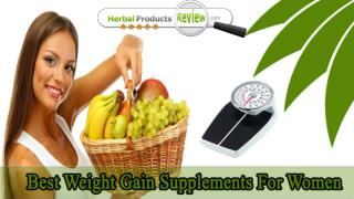 Best Weight Gain Supplements For Women, Muscle Mass Gainer Pills