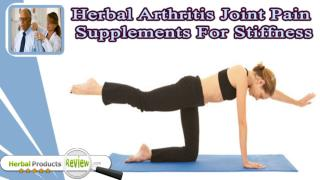Herbal Arthritis Joint Pain Supplements For Stiffness And Swelling