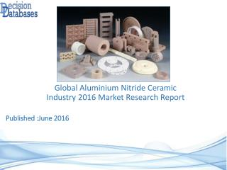 Global Aluminium Nitride Ceramic Industry Share and 2021 Forecasts Analysis
