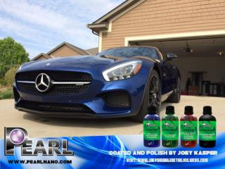 Pearl Nano Coatings - Self Cleaning Properties.