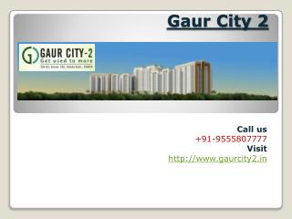 Gaur City 2 Properly Designed Residential Township
