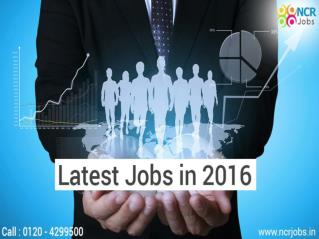 Latest Jobs Vacancy in Top Companies Delhi NCR