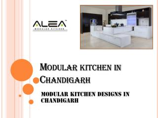 Best Modular Kitchen Designs in Chandigarh