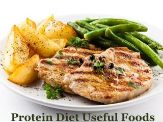 Protein Diet Useful Foods