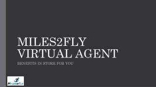 Home-Based travel agent job, Vacancies, Employment | Miles2Fly Virtual Agent