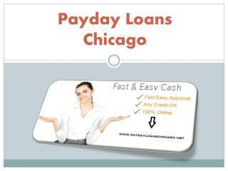 Payday Loans Chicago A Convenient Way to Handle Financial Crisis