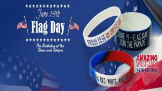 Celebrate This Flag Day Proudly With Silicone Wristbands