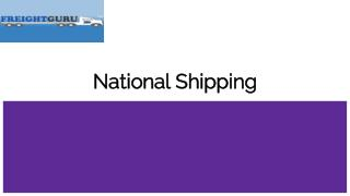 National Shipping Service